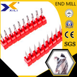 Aluminum를 위한 45 55 Degree Carbide End Milling Tools