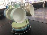 Настраиваемый логотип керамические / фарфоровые чашки кофе эспрессо с Saucers устанавливает