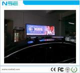 택시 LED에 의하여 점화되는 로고 표시를 광고하는 P5 차 지붕