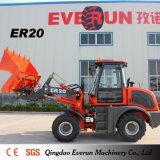 Nueva maquinaria de Everun 2017 cargador de la rueda de 2 toneladas (ROPS/FOPS, CE, EPA)