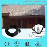 cavo sbrinante del PVC Roof&Gutter di 10m 160W con risparmio di energia