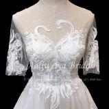 Линия Aoliweiya Тюль/использованием стекла новой конструкции устраивающих свадьбу одежды 010536