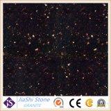Opgepoetste Zwarte van de Melkweg van het Graniet het Bedekken/van de Keuken Countertop Plakken