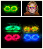 Quente! Creative Design Fashionable Glow Stick Face Mask