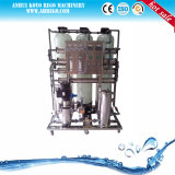 1000L/H RO de purificação da água do sistema de tratamento de água da linha com a lâmpada UV