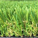 25mm 15750密度Leo10の景色の人工的な草