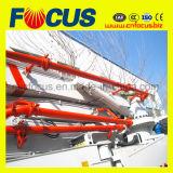 Конкретный насос с заграждением, Тележк-Установленный конкретный насос 42m заграждения, 45m