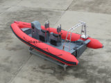 Bateau gonflable rigide de plongée d'Aqualand 19feet 5.8m/bateau de côte (rib580t)