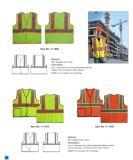 Veste reflexiva customizável da segurança com vários tamanhos