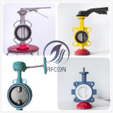 Controle de água Tipo Wafer Válvula Borboleta concêntricos