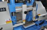 De horizontale Elektrische Draagbare Zagende Machine van de Riem van de Band voor Gh4220 Om metaal te snijden