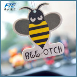 2018 Customized Shape Paper Hanging Because Air Freshener Promotional Gift