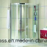 緩和されたシャワー機構ガラス