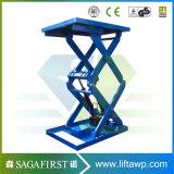 1ton mesa elevadora de tijera hidráulico