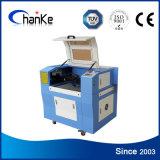 Ck6040 CO2 Samll máquinas de grabado láser para el cuero de acrílico de bambú