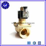 Hochdruckdampf pneumatisches normales geschlossenes Messingmagnetventil Gleichstrom-24V