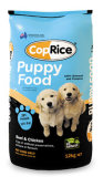 Fond plat de la cornière de lumière et de maturité de la nourriture pour chien sac d'emballage