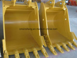 Garra de madeira da garra do registro da cubeta da máquina escavadora para peças sobresselentes da maquinaria de construção