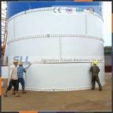 Silo de armazenamento de cimento de 50 toneladas para planta de cimento de pequena escala