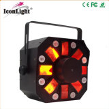 6X5w Stinger Moonflower LED efecto luces para la fiesta