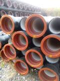 Le rouge peint avec a cannelé chaque tube d'acier de lutte contre l'incendie de l'extrémité ERW