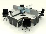 Moderno 4 plazas Cubículo estación de trabajo modular de aluminio (HF-YZ009)
