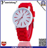 Yxl-816 Publicité promotionnelle Montres à quartz pour Lady Cheap Silicone Band Women Geneva Watch