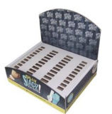 Carrinho de indicador da prateleira do cartão, caixa ondulada da caixa do indicador da bandeja do assoalho