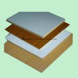 家具を作るための1220X2440X18mm白いカラーメラミンによって薄板にされるMDF