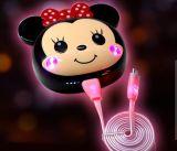 12000mAh lindos dibujos animados de Mickey móvil Banco de potencia portátil