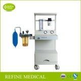 Máquina da anestesia do hospital do equipamento médico de Jinling-2b