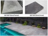 Flammé Gray Granite Tile Cheap de granit gris Paving Stone