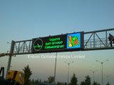 Visualización de LED de la guía del tráfico al aire libre (20 * los 2m - el doble echaron a un lado)