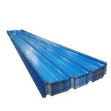 Toiture en tôle ondulée en acier galvanisé de couleur pour les toits de tuiles de feuille