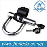 Yh9205 liga de alumínio de alta qualidade combinação antirroubo Aluguer de Bicicleta em U BLOQUEIA