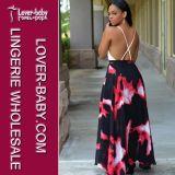 Il maxi modo delle donne di estate veste i vestiti (L51262)