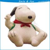 Urso de anúncio inflável pequeno, diodo emissor de luz ao ar livre que anuncia o modelo