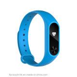 Bracelet intelligent de moniteur du rythme cardiaque avec IP68 imperméable à l'eau