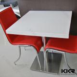 Tabelle pranzanti di pietra artificiali di superficie solide di disegno moderno