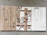 De madera como el azulejo de cerámica esmaltado inyección de tinta de la pared