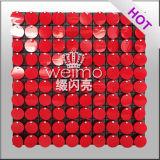 Строя стена логоса Shimmer цветастая