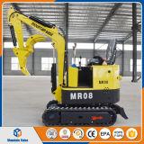販売のための中国の安いクローラー掘削機0.8ton/800kg小さい掘る機械小型掘削機
