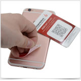 Microfiber Mobile Phone Screen Cleaner Microfiber Sticker