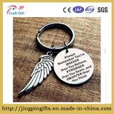 Il regalo dell'anello portachiavi di incoraggiamento con l'ala di angelo si ricorda sempre che siete più coraggioso di credete il regalo ispiratore di Keychain
