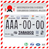 سيّارة رقم (رخصة) لوحة درجة انعكاسيّة يصفح ([تم8200])
