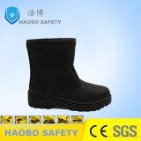 Pattini di sicurezza industriali del cuoio di inverno con la suola dell'unità di elaborazione