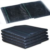 90GSM de PP preto agrícolas Tecidos de plantas daninhas para o rolo do Tapete Anti Grass a cobertura de solo