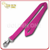 Metal Hook를 가진 공급 Blank Pure Color Promotion Polyester Lanyard