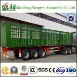 50t Aanhangwagen van de Vrachtwagen van het Vervoer van de Lading van de staak de Semi