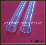 Venda superior Limpar o tubo de quartzo de paragem de UV TUBO TUBO